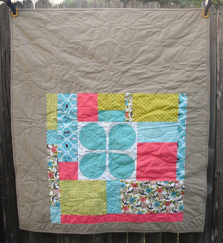 Sarah's Baby Quilt - Back by jenniferworthen