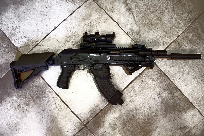 10/22 into a AK47 - .22 Rifle/Rimfire Discussion