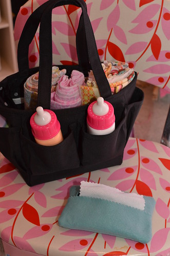 Dolly Diaper Bag - Wipes