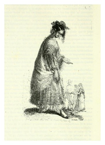016-La gitana-Los españoles pintados por si mismos-Tomo I-1843- Editado por Ignacio Boix