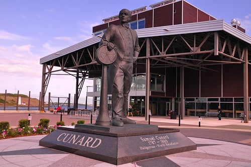 Cunard, One of Nova Scotia's founding fathers