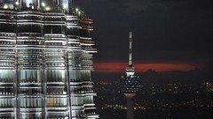 Petronas Towers & Kuala Lumpur Tower,  Malaysia
