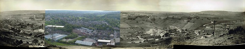 Holmfield Station old/new 1934/2013
