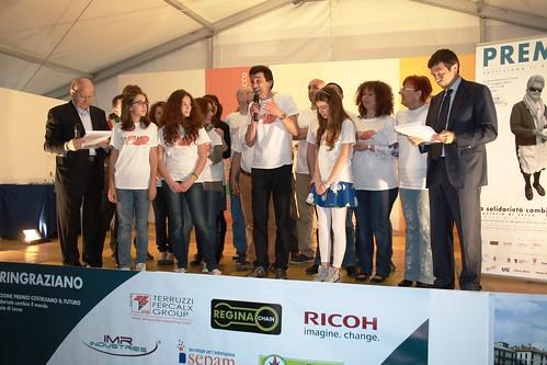 Premio giovani volontari Anna Martina e Egle di Amici del Teatro e dello sport di Monticello Brianza