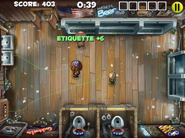 Men's Room Mayhem on PS Vita