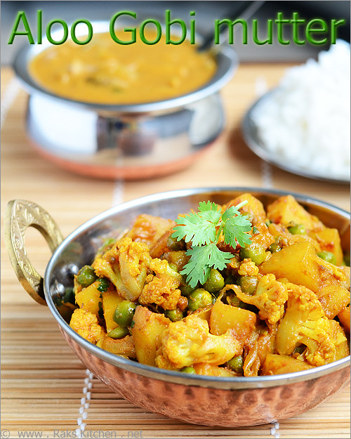 potato-peas-cauliflower curry