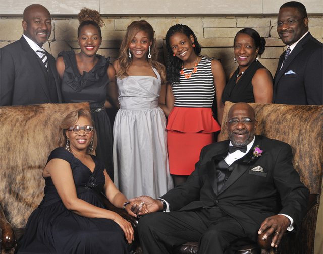 Pastor Parker and Family