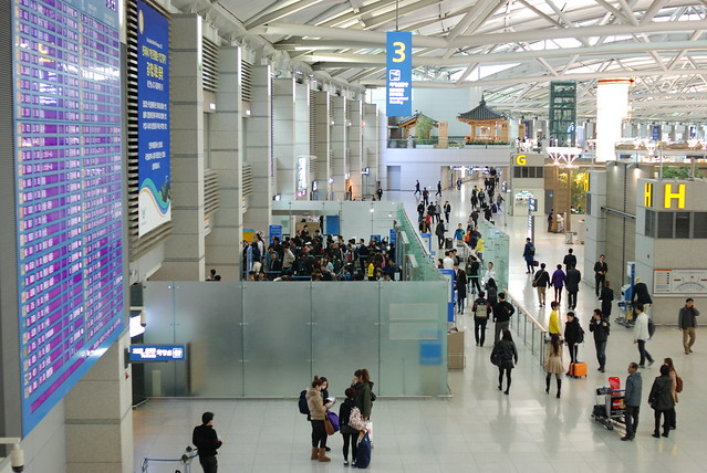 Incheon Airport, 3rd Floor