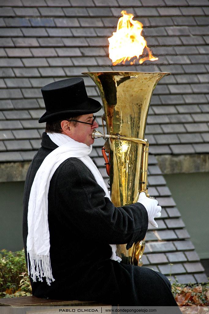 Tu tuba está en llamas