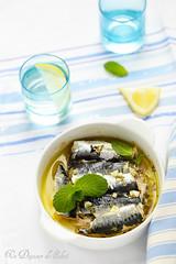 Sardines siciliennes au citron et menthe