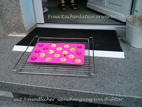 Frau Küchenlatein erwartet Gäste