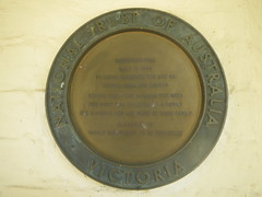 Photo of 23 Princes Street bronze plaque