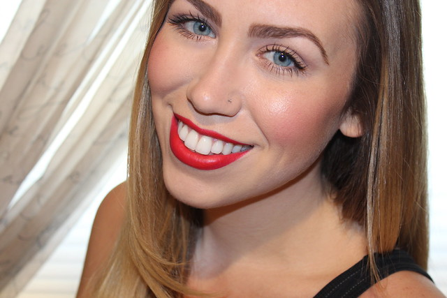 Living After Midnite: Jackie Giardina: Red Lips for Prom: mark. Makeup Monday