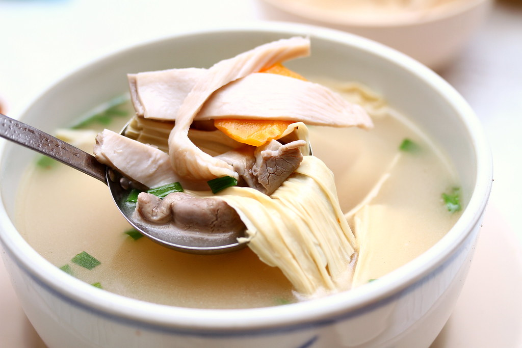 Plum Village Restaurant: Pig Stomach Soup