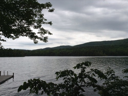Squam Lake under Cloudy Skies