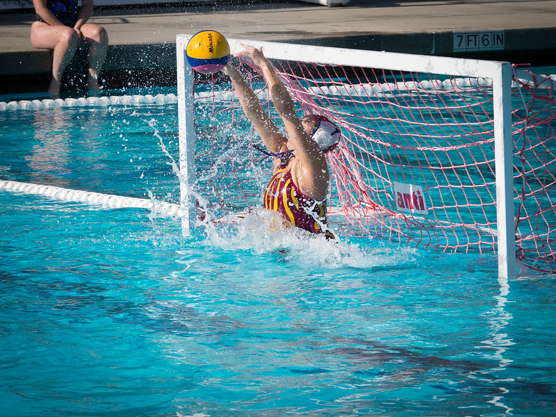 Tessa Smith 5 Meter Save Goalie Water Polo