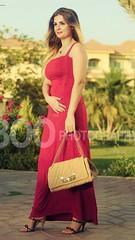 sari(0.0), pink(0.0), magenta(1.0), gown(1.0), clothing(1.0), abdomen(1.0), yellow(1.0), maroon(1.0), peach(1.0), leg(1.0), trunk(1.0), formal wear(1.0), photo shoot(1.0), human body(1.0), dress(1.0),