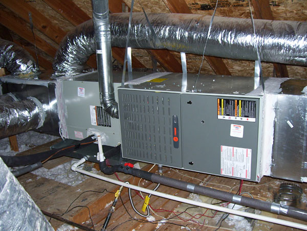 Trane A C Unit In Attic Flickr Photo Sharing