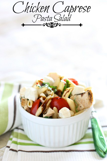 chicken caprese pasta salad 002