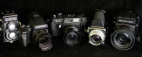 medium format:some of my favorite cameras! by phollectormo