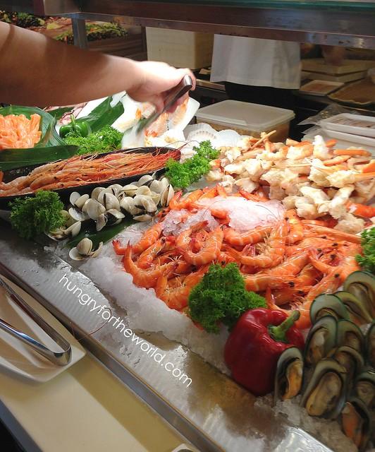 sashimi spread