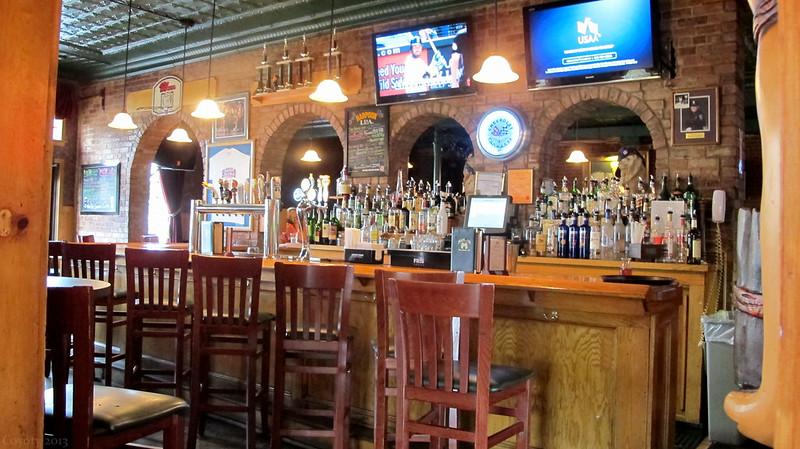 Main Pub's bar