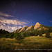Night Flatirons