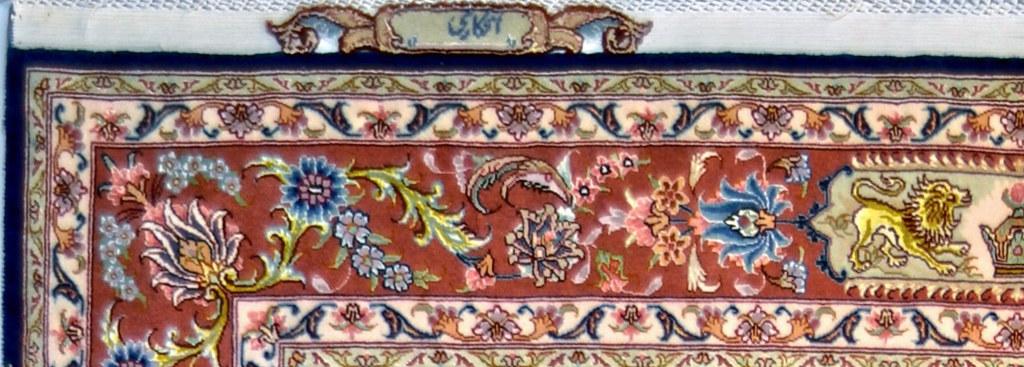 Salari Design Tabriz SIlk Persian Area Rug