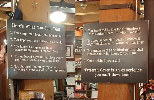 Tattered Cover Book Store: Here's What You Just Did!