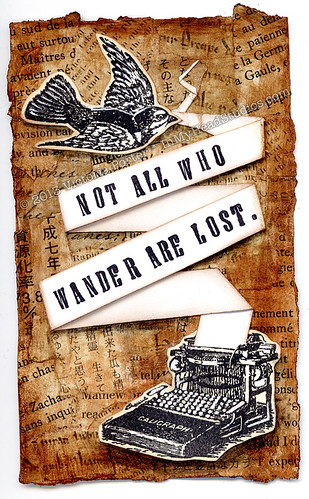 """Not All Who Wander Are Lost"" ICAD : 6-29-13"