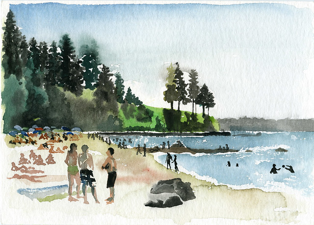 Third Beach, Stanley Park, Vancouver