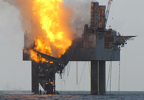 Gulf Rig Fire is Deja Vu for Fishermen Still Reeling from BP Disaster