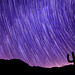 Perseids over Anza Borrego by It was the light, it was the angle
