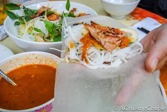 Vietnamese Food Dong Hoi