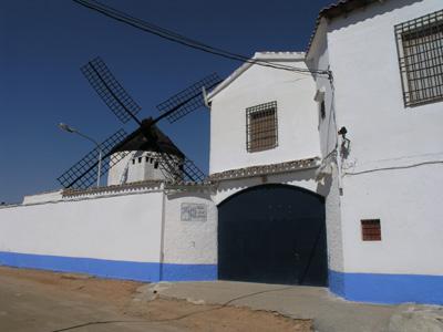10. Detalle del molino del tío Genaro, en Madridejos. Autor, JMMG