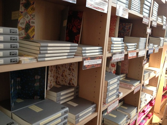 Stacks of Persephone Books