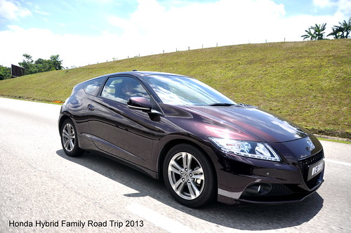 Honda Hybrid Family Road Trip 1 CR-Z Manual