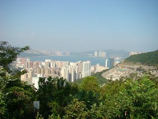 36 Uitzicht richting Chai Wan
