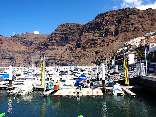 Los Gigantes Marina, Tenerife