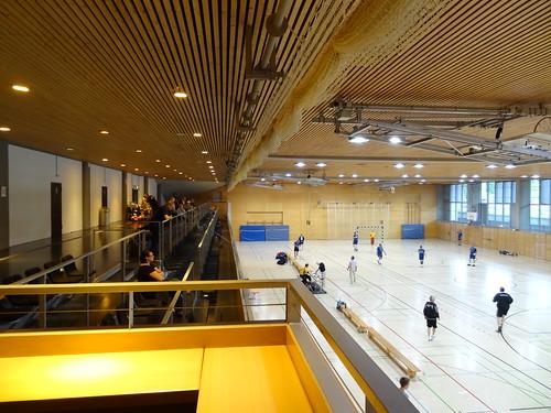 Werner-Seelenbinder-Halle, inside velodrome area