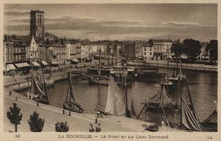 La Rochelle: le port et quai Duperré