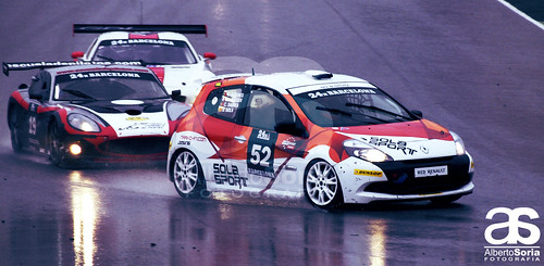 La lluvia no supuso ningun problema para sus pilotos
