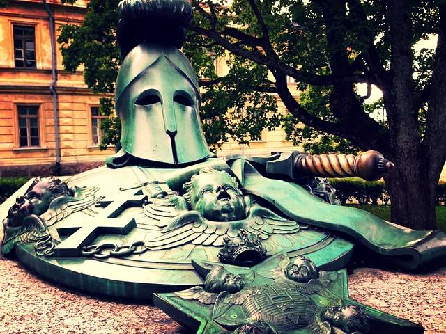 Admiral Augustin Ehrensvärd's memorial, Suomenlinna