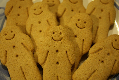 Mini-gingerbread people by Helen in Wales