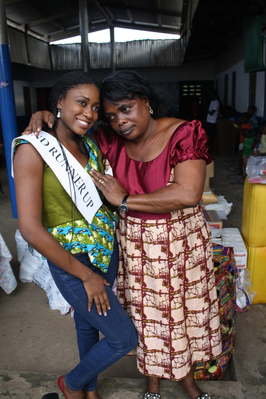 Miss Ghana at Bodwiase