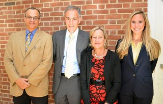 Constitution Day 3.0 panelists. Photo courtesy of the College of Behavioral and Social Science's Facebook page.