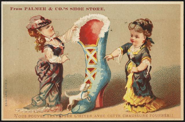From Palmer & Co's shoe store. Vous pouvez traverser l'hiver avec cette chausure fourree! [front]