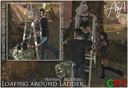 ::A&A:: Loafing around Ladder - The JokeRs Playhouse Hunt Gift by Alliana Petunia