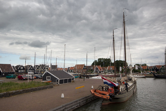 Leaving Marken for the Zuiderzee