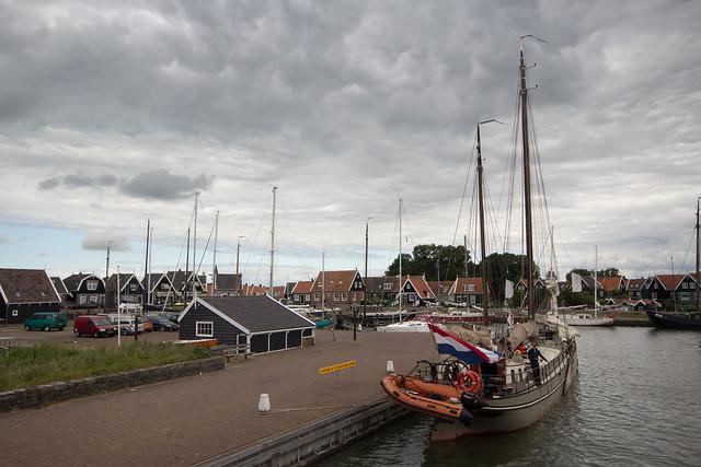 Leaving Marken for the Zuiderzee